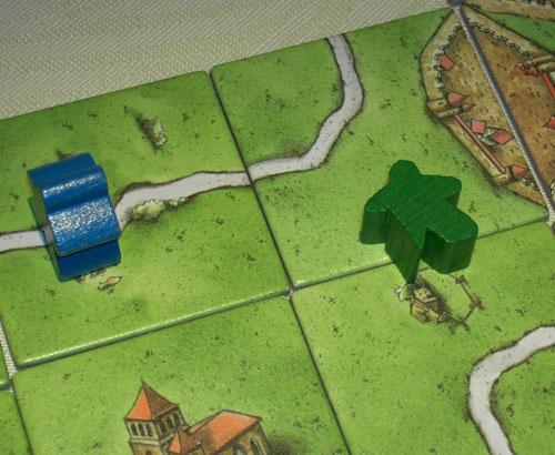behinderte Carcassonne-Figur