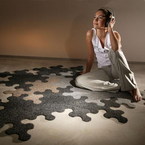 Puzzle-Teppich